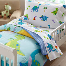 dinosaur toddler bedding piece set everything kids trendy grey sheets affordable sets unique beds light pink