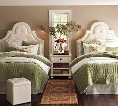 ... Personalize a guest room with twin beds with fresh flowers