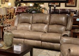 power leather reclining sofa with drop down table by catnapper 64505 regard to microfiber prepare 7