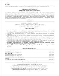 10 Cv For Grad School Application Billy Star Ponturtle