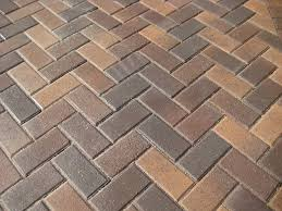 Herringbone Pattern Pavers Cool Alluring Herringbone Pattern Pavers Driveway G 48 Garden Decor