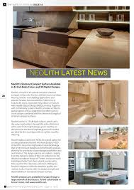 Neolith Stone Design Neoliths Sintered Compact Surface Available In 14 Full Body