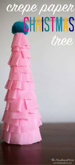 this easy paper tree craft is inexpensive and made in less than
