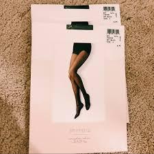 Shimera Off Black Tights Size A Nwt