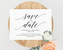 Print Your Own Save The Date Save The Date Template Save The Date Cards Save The Date Printable Postcard Bliss Paper Boutique Pdf Instant Download Bpb310_2b