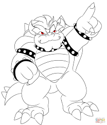 Small Picture Bowser coloring pages Free Coloring Pages