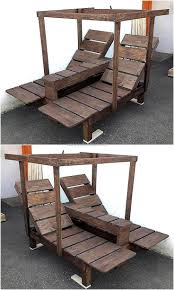 Creative Realizations with Recycled Wooden Pallets