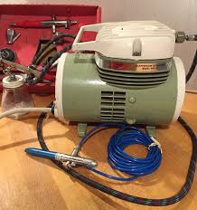 museum of forgotten art supplies sprayit air compressor painting tools