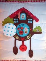 cuckoo clock pillow maria needs one for her bed
