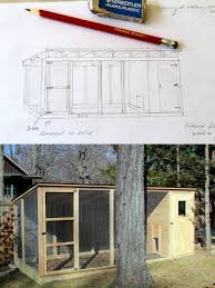 frankie building duck house sketch for the design and final plans pictures fin pictures