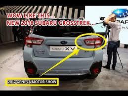 2018 subaru crosstrek limited. fine 2018 2017 geneva motor show 2018 subaru crosstrek throughout subaru crosstrek limited