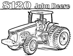 Outstanding case tractor coloring pages stunning john deere with ««