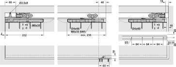 Schuifdeurbeslag Eku Porta 60 100 Hmt Garnituur In De H Fele