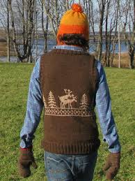 Ravelry Mollyjades Fornicating Deer Vest