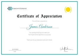 Examples Of Certificates Of Appreciation Wording Fascinating Recognition Of Service Certificate Template