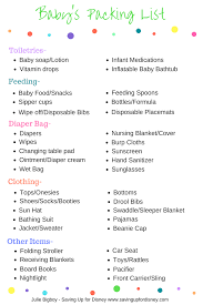 list for traveling traveling with a baby in diapers free baby packing list