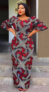 African Khanga Designs African Print Long Dress African Fashion Ankara Kitenge