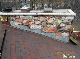 fireplace mortar repair cement cap crown seal installed to repair s in existing chimney crown before fireplace mortar repair