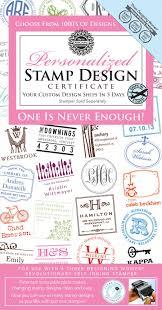 Three Designing Women Certificate Custom Stamp Design Only Certificate From Three Designing