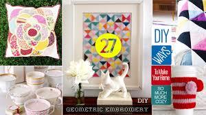 27 cute diy home decor crafts