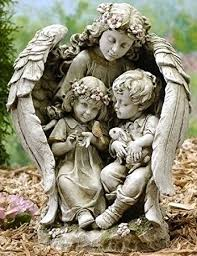 angel garden. guardian angel garden statues [47625] e
