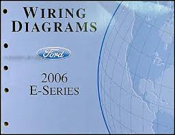 2006 ford econoline van club wagon wiring diagram manual original