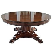 round table that expands century neoclassical round expanding dining table for round table that expands round table that expands