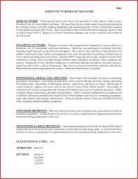 Stocker Job Description For Resume Warehouse Supervisor Job Description For Resume Therpgmovie 76