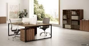 fantoni office furniture. Framework Desk Walnut Top With Black Steel Leg Fantoni Office Furniture