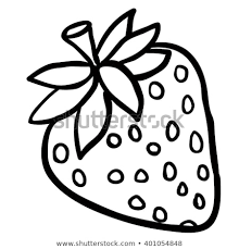 black and white strawberry clipart. Delighful Strawberry Black And White Strawberry Cartoon In Black And White Strawberry Clipart