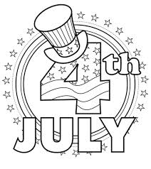 At home with the kids? Top 35 Free Printable 4th Of July Coloring Pages Online