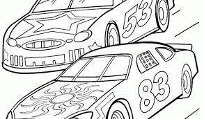 Small Picture Race Car Coloring In Pages Coloring Coloring Pages