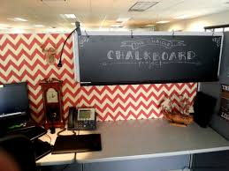 cubicle wallpaper diy