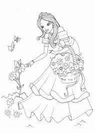 Get your free printable princess coloring pages at allkidsnetwork.com. Pictures Of Princesses To Color Coloring Home