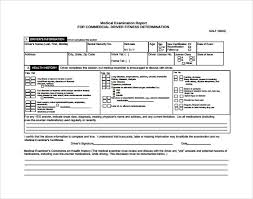 Medical Physical Form Template Va Dot Physical Form Insaat Mcpgroup Co
