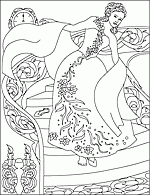After deciding that his beloved daughter needs a mother's care, cinderella's father marries a proud and. Cinderella Coloring Pages At Nicole S Coloring Pages
