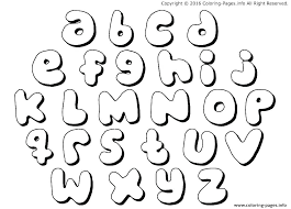 Alphabet Letter Coloring Pages Free Pictures Printable For The D