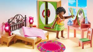Barbie bedroom Playmobil Bedroom Dollhouse Furniture Toys Barbie