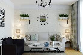 Purple And Green Living Room 50 Contoh Wallpaper Dinding Ruang Tamu Minimalis Desainrumahnya