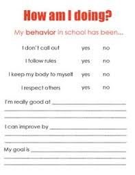 student midyear review the self evaluation process goal setting  student midyear review the self evaluation process goal setting printables