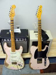 nash matched pair friday strat 199 stratocaster guitar bill nash s 57 e 52 matched relic pair