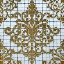 mosaic tile designs. Wholesale Crystal Glass Mosaic Mirror Sheets Pteris Pattern Design Art Bathroom Wall Tile Kitchen Backsplash Shower Designs I