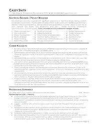 Electrical Engineering Cv Template Word Engineer Resume Format Doc