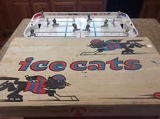 table hockey game. bock plast table hockey game late 1960\u0027s canada vs sweden - coleco,munro,eagle
