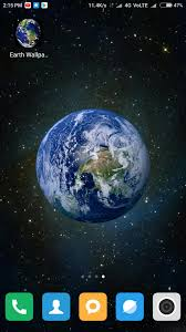 HD Earth Wallpapers for Android - APK ...