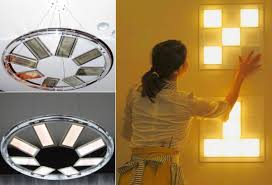 lighting wireless. Transparent And Wireless-powered OLED Lighting Panels By Toshiba Wireless E