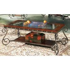 marble dining table adecc: este elegant glass insert coffee table by greyson living