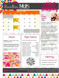 One Page Newsletter Templates One Page Newsletter Mops Senior Activities First Page Templates