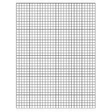 Printable Graph Paper Full Page 1 Inch Printable Graph Fordhamitac Org