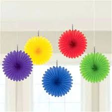 diy paper fans tissue paper fans for wedding hand wedding decoration favors crafts flowers party diy large paper fans
